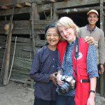 DRK-Referentin besucht Roas Familie in Ban Dang