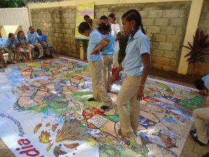 """Sich spielerisch auf Gefahren vorbereiten - unsere Kinder im """"Risikoland"""". (c) DRK/Nadine Evers"""