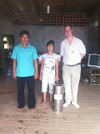 Herr Nhanh, seine Tochter und Guillaume Zangl