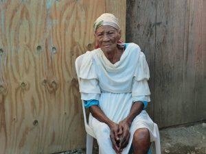 Yaya, eine 115 Jahre alte Haitianerin