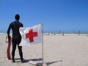 Erste Hilfe am Strand - Kolumbien