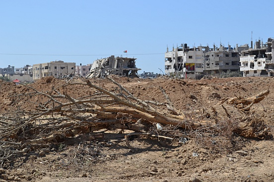 Landschaft in Gaza
