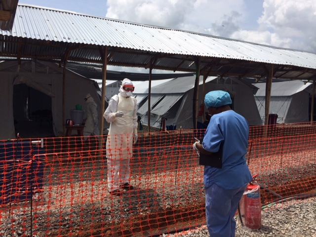 Ebola Treatment Center DRK