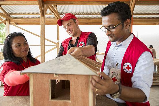 Shelter-Projekt des Deutschen Roten Kreuzes
