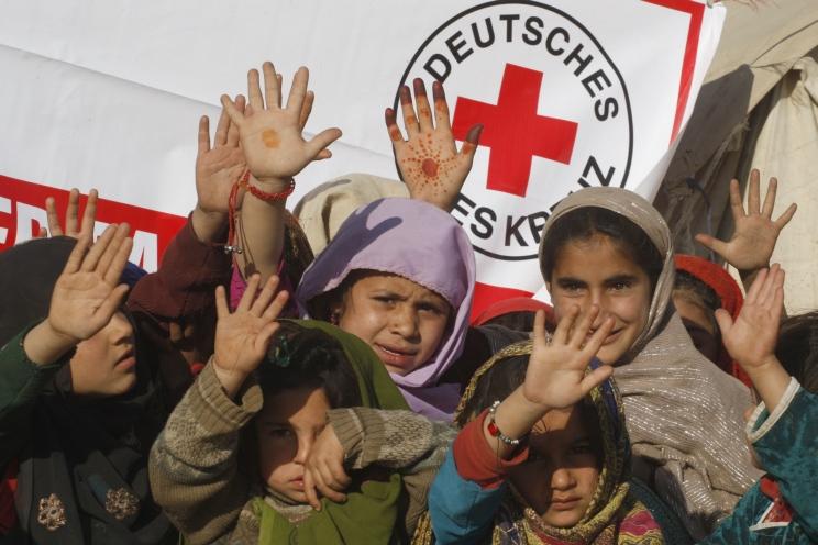DRK Pakistan Kinder Winterhilfe