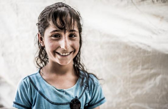 Laticia aus Syrien ist neun Jahre alt. Foto: Silas Koch