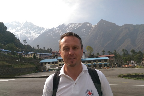 Karl Philipp Gawel in Lukla