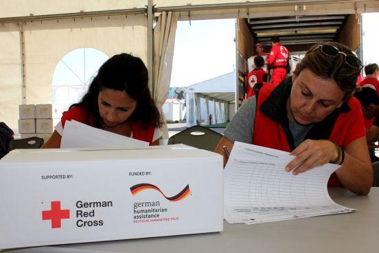 DRK unterstützt das Hellenische Rote Kreuz