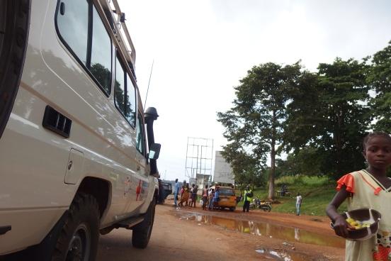 Straßenverhältnisse in Liberia