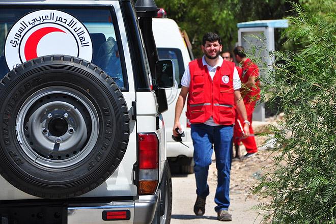 SARC-Mitarbeiter Ahmed