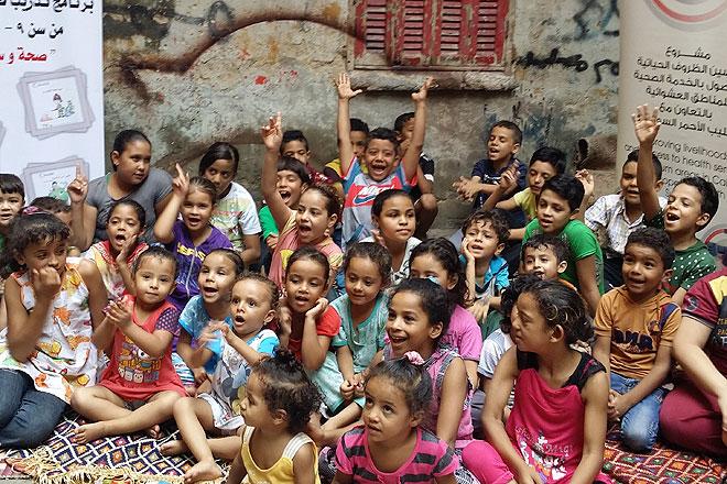 Schulkinder in Ägypten