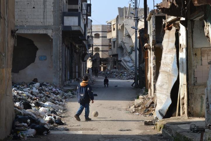 Altstadt von Homs in Syrien