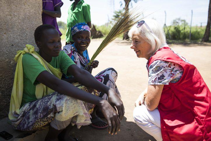 DRK-Vizepräsidentin Donata Freifrau Schenck zu Schweinsberg