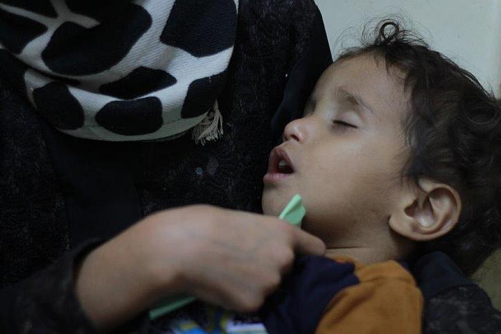 Im Gesundheitszentrum des Jemenitischen Roten Halbmonds