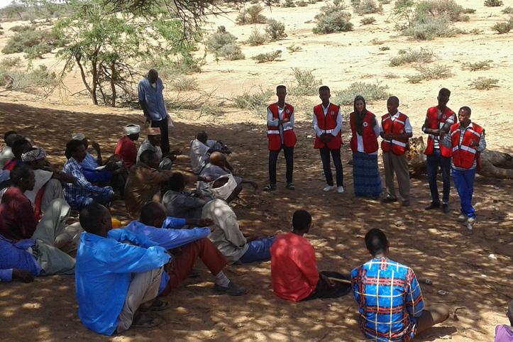 Foto: Rotkreuz-Infoveranstaltung in Somalia