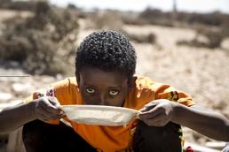 Somalischer Junge