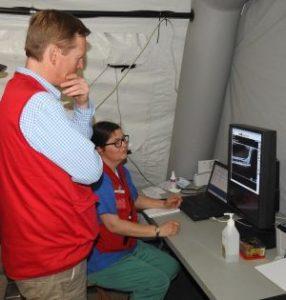 Arbeit in der Mobilen Gesundheitsstation