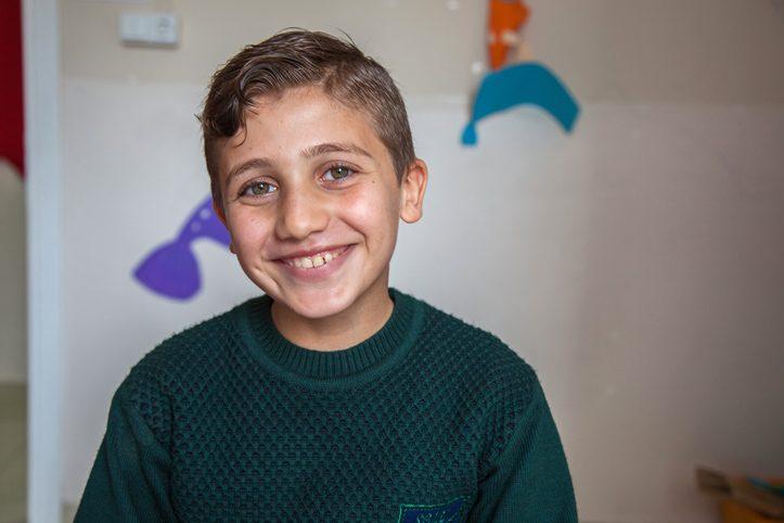 Foto: Portrait eines syrischen Jungen