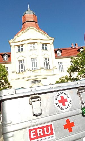 DRK-Hauptquartier und ERU-Kiste