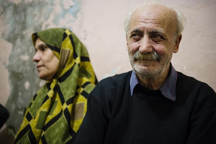 Ehefrau Hanaa und Ahmad Ghannam