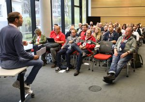 Eine Session mit Teilnehmern beim CMD18