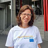 Janina Jasper, EU Aid Volunteer für das DRK