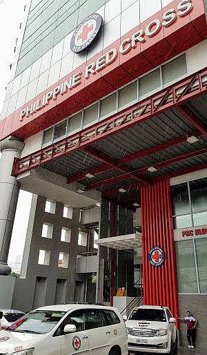 Red Cross Tower in Manila