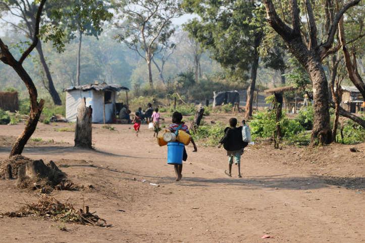 Umsiedlungsdörfer nach Zyklon Idai in Mosambik