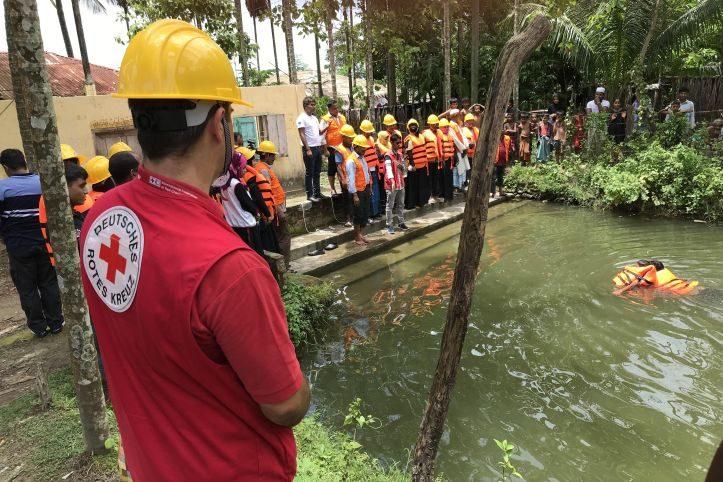 Katastroohenvorsorge in Bangladesch