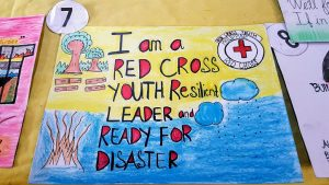Poster about Disaster Risk Reduction in the Philippines