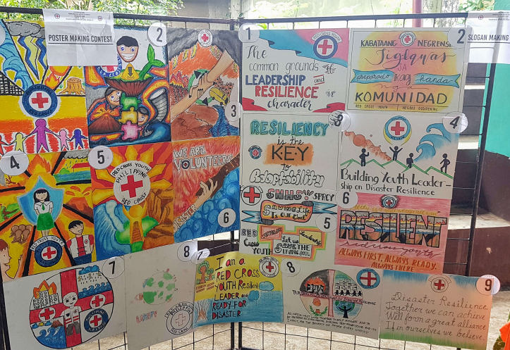 Posters about Disaster Risk Reduction in the Philippines