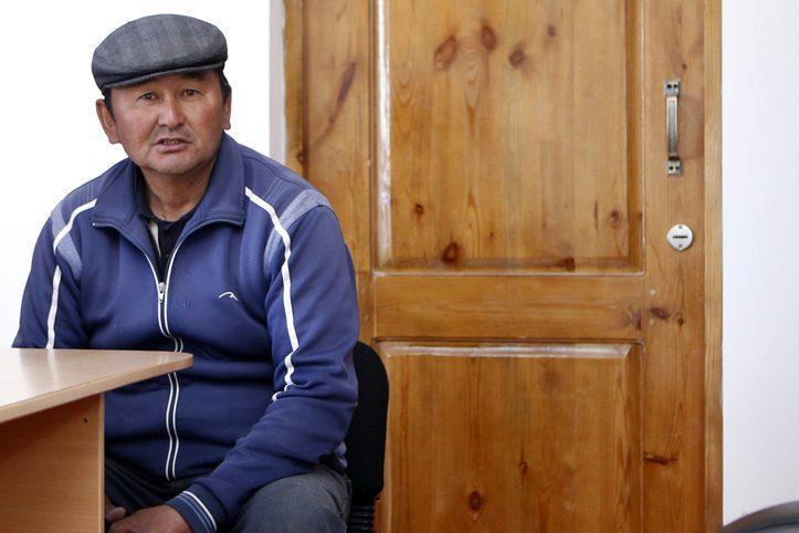 Foto: Dorfvorsteher eines kirgisischen Dorfes