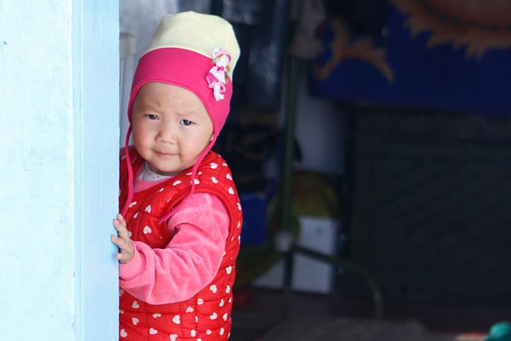 Foto: Kirgisisches Kleinkind