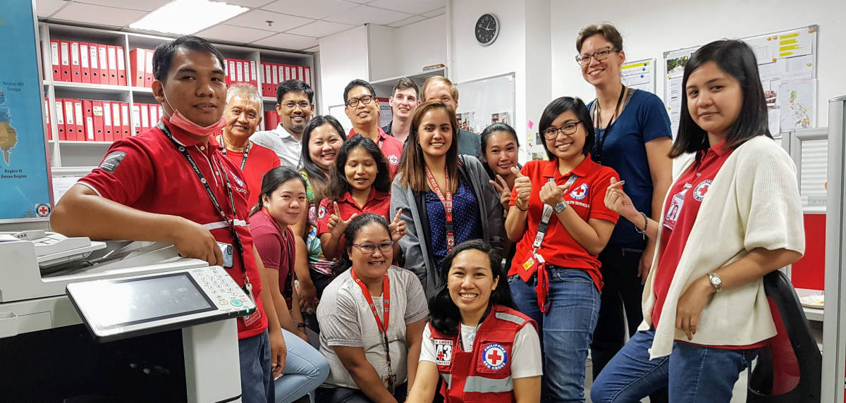 Shortly before lockdown: GRC team in Philippines