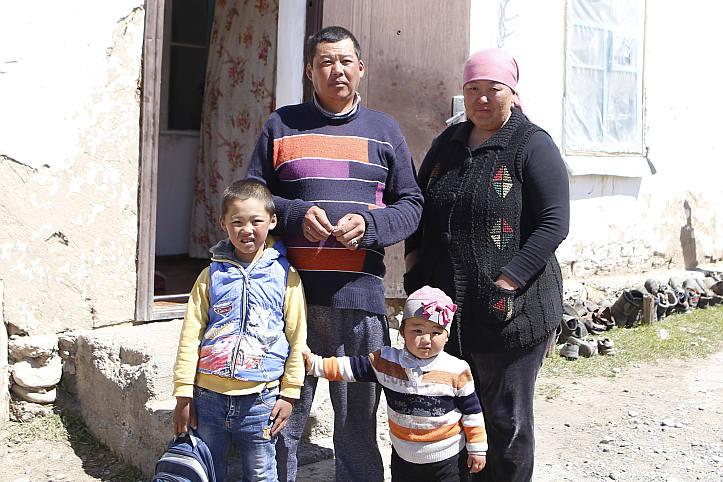 Forecast-based Financing in Kirgistan: bedürftige Familie