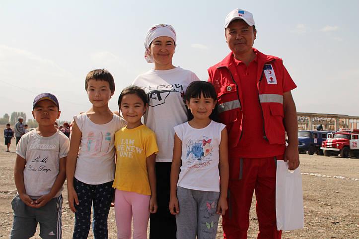 Forecast-based Financing in Kirgistan: Kinder und Erwachsene