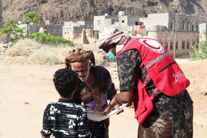 COVID-19-Aufklärung im Jemen: Dreier-Gespräch