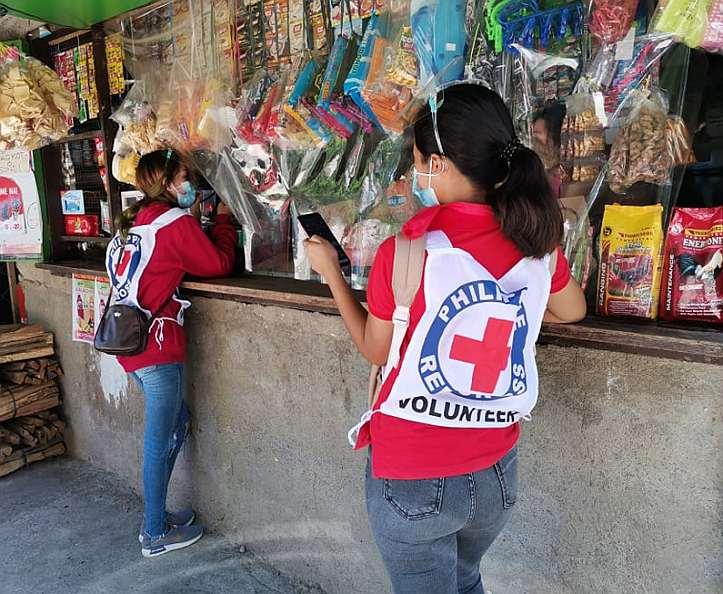Freiwillige unterwegs auf den Philippinen