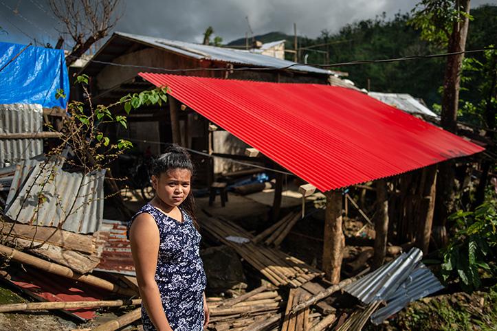 Neues Dach dank Rotem Kreuz