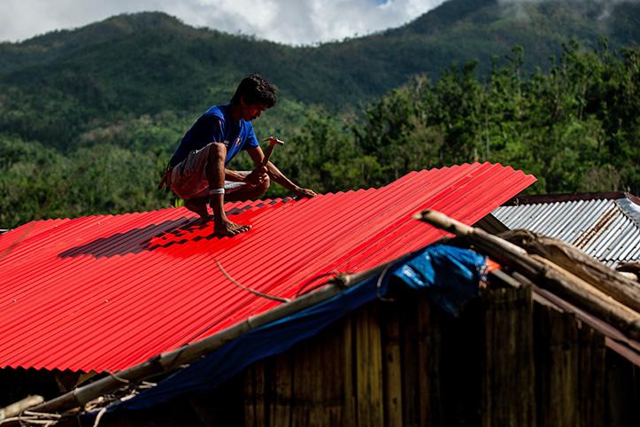 Wiederaufbau nach Goni auf den Philipppinen