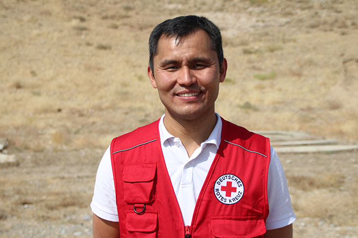 Hat geholfen ein Frühwarnprotokoll in Kirgistan zu entwickeln: Shavkat Abdujabarov